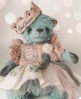 ooak artist handmade teddy bear