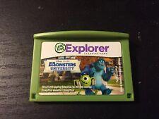 LeapFrog LeapPad, Leapster Explorer MONSTERS UNIVERSITY Game Cartridge