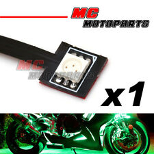 1 pc Green Tiny Prewired SMD LED 5050 12V Light Bike Car Motorcycle