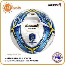 Nassau TUJI Soccer Ball Size5 KFA Approved Football Official Match Game Ball