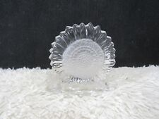 PartyLite Clear Crystal Sunflower Design Votive Candle Candleholder