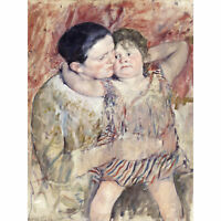 Cassatt Woman Child Mother Painting Extra Large Art Poster