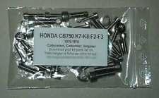 HONDA CB750 Four K7 K8 et F2 F3 Kit n°1 vis BTR inox carburateurs