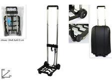Carrello porta valigia pieghevole richiudibile pacchi portavaligie per trasporto