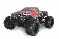 Amewi Torche RC Monster Truck Brushed 4WD 1:10 RTR 22032 + Akku