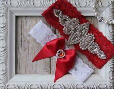 Customizable Wedding Garter, Bridal Garter,Colored Lace Garter, Handmade, Garter
