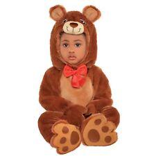 Baby Toddlers Cuddle Brown Bear Koda Wild Animal Teddy Romper Jumpsuit Costume