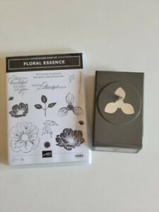 Stampin' Up! Floral Essence Stamp Set and Coordinating Punch - Retired
