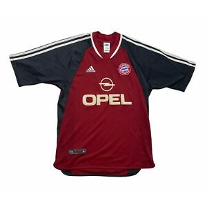 🔥Original 2001/02 Bayern Munich Home Football Shirt Vintage - Size Medium🔥