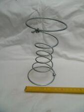 6 ressorts de tapissier 6 tours H : 17 cm en acier galvanisé pour siège fauteuil
