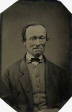 CIVIL WAR ERA ORIGINAL TINTYPE PHOTO PORTRAIT OF A MAN