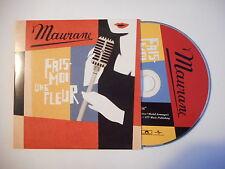 MAURANE : FAIS MOI UNE FLEUR [ CD SINGLE PORT GRATUIT ] * RARE PROMO