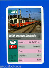 [GCG] SUPERCARTINE - SCHMID - Figurina-Sticker n. 4B - TCDD TURKISCHE STAATSBAHN