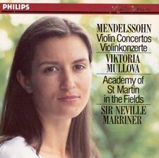 Mendelssohn: Violin Concertos; Viktoria Mullova, Marriner (CD, 1991, Philips)