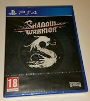 SHADOW WARRIOR PS4 New Sealed UK PAL Version Game Sony PlayStation 4 warrier