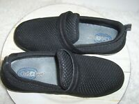 Orthofeet Quincy Stretchable Slip-on Comfort Shoe Women 8.5 Wide Black Worn Once
