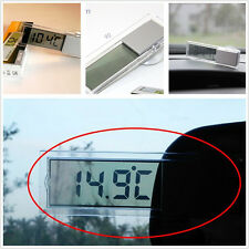 Car Interior Windshield °C & ℉ Thermometer Digital LCD Display Gauge For Offroad