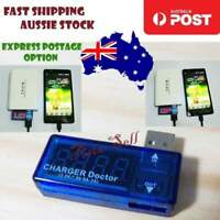 3pcs Digital USB Power Charging Current Voltage Tester Meter USB Charger Ammeter
