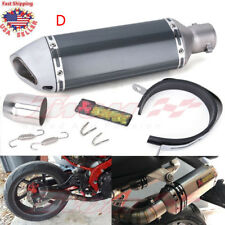 Universal Motorcycle Short Exhaust Muffler Silencer Slip On DB Killer 38mm-51mm
