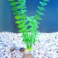 Gras Aquarium Ornaments Dekor Künstliche Pflanzen Wasserpflanzen Fish Tank 30cm