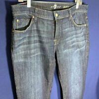 7 For All Mankind Men's Austyn Relaxed Straight-Leg Jean in Los Angeles Dark