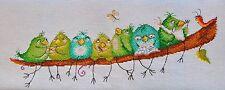 NEW Counted Cross Stitch KIT MARY WEAVER (MARYA ISKUSNITSA) Funny birds