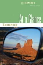 At a Glance Sentences 5th Edition by Lee Brandon