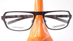 Titan Brille nickelfrei Gestell schwarz leicht Herren occhiali sportlich Gr M