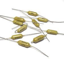 10x Mullard Mustard condensador de 8.2 nf/400v, Tone capacitor F. Guitars & Amps