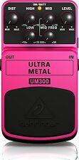 Behringer Distorsore Chitarra Elettrica Effetti Ultra Metal Pedaliera