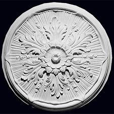 Ceiling Rose Resin Strong Lightweight Design Not Polystyrene Easy Fix 54cm