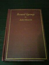Bernard Quesnay by Andre Maurois antiquarian 1927 Hc 1st Ed Trans Brian W Downs