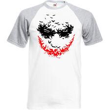 Murciélago Face - Camiseta Hombre el Joker Batman Rises Heath Ledger