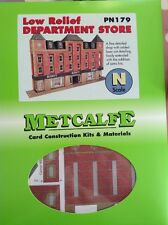 Metcalfe Kit PN179. Low Relief Department Store.  N Scale.