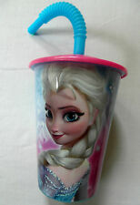Disney FROZEN Anna Elsa Cup / Tumbler with Straw 450ml