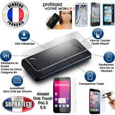 Protection Ecran Verre Trempé Contre les Chocs pour Alcatel One Touch Pixi 3 5.0