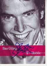 CYCLISME carte cycliste BAS GILLING équipe T MOBILE 2005 signée