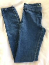 Juicy Couture Jeggings Size Petite Small Jean Leggings Stretch Pull-On Chambray