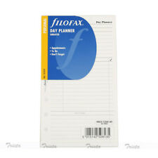 Filofax Personal Size Undated Day Planner Diary Notepaper Refill Insert 131319