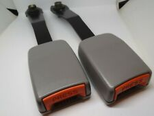 TWO TOYOTA CAMRY SEAT BELT STALK FRONT LIGHT GREY COLOUR SUITS 20 TO 36 SERIES