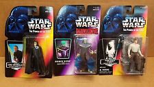 """3 Star Wars """"Power of the Force """"& """"Shadows of The Empire"""" Action Figure 1996"""