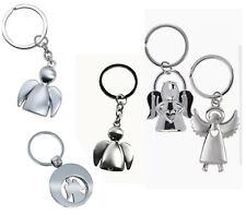 5x Schlüsselanhänger Engel Schutzengel Einkaufswagenchip keychain Engelchen Herz