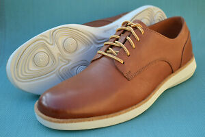 Clarks Mens Active Air Shoes FAIRFORD RUN Tan Leather UK 8.5 / 42.5