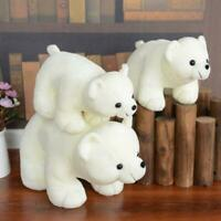Christmas Plush Polar Bear Stuffed Animal Toys Kawaii Doll Polar Bear Ornament