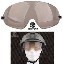 RICAMBIO VISIERA SOFTAIR ELMETTO FAST FUME EMERSON airsoft fast goggles EM8817