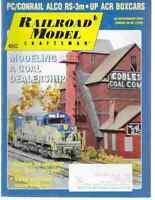 Railroad Model Craftsman Magazine February 2009 PC/Conrail Alco RS-3m