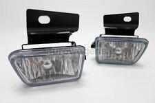 VW Golf MK2 84-92 Crystal Clear Front Fog Lights Lamps Set Pair Driver Passenger
