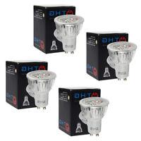 4x 6W GU10 LED Bulbs 50W Lamp Spotlight Day White Light Downlight High Power UK