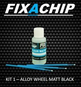 MATT BLACK ALLOY WHEEL TOUCH UP PAINT (KIT 1)