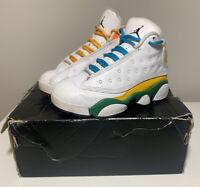 Nike Jordan Retro 13 KSA *Playground* Multi-Color White PS CV0808-158 Size 11C